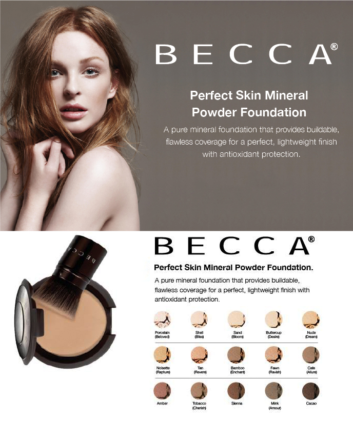 BECCA Perfect Skin Mineral Powder Foundation fall 2014