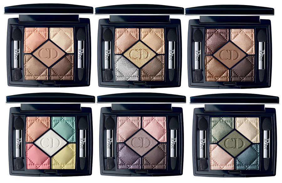 Dior Makeup Collection for Fall 2014 5 Couleurs eyeshadows
