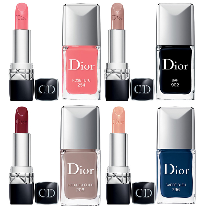 Dior Makeup Collection for Fall 2014 lipsticks and nail polishes