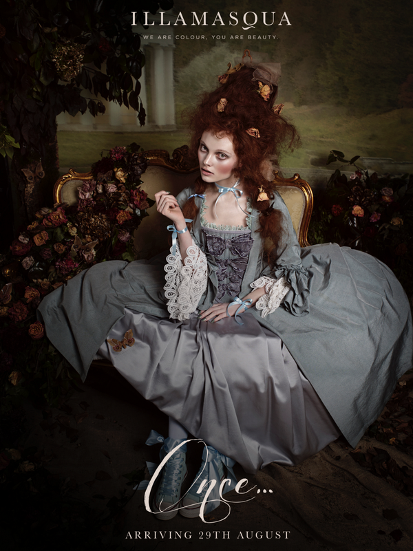 Illamasqua Once Makeup collection for fall 2014