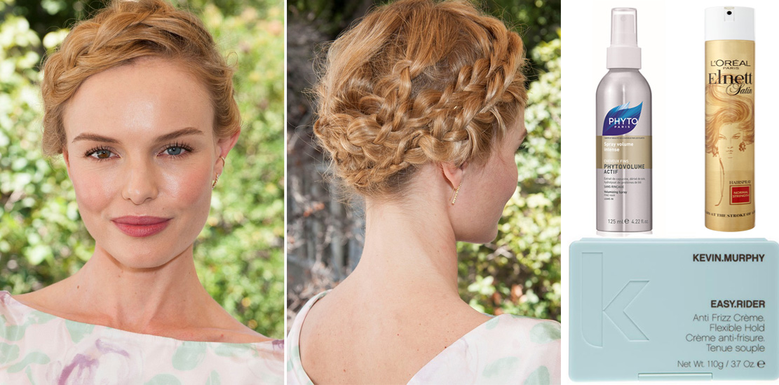 Kate Bosworth Hairstyle re-create