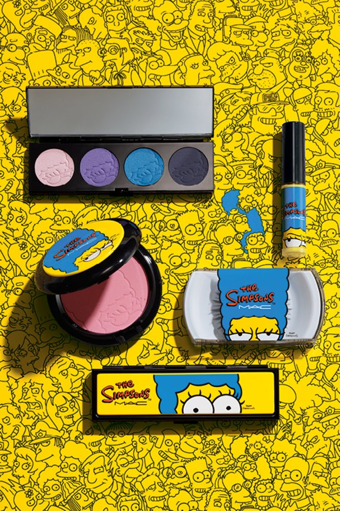MAC Simpsons Makeup Collection for Fall 2014 products