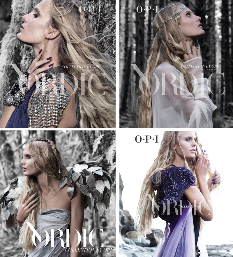 OPI Nordic Nail Polish Collection for Fall 2014 promo