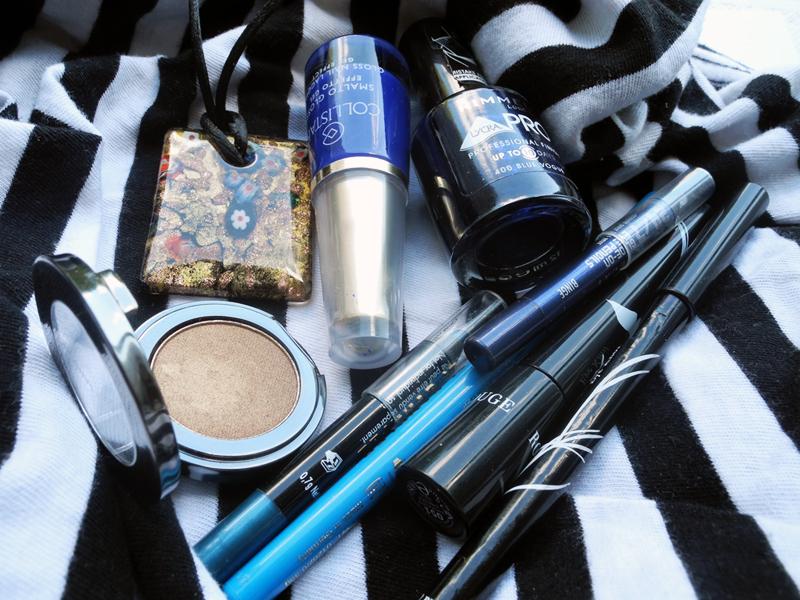 Summer blue makeup shades makeup4all