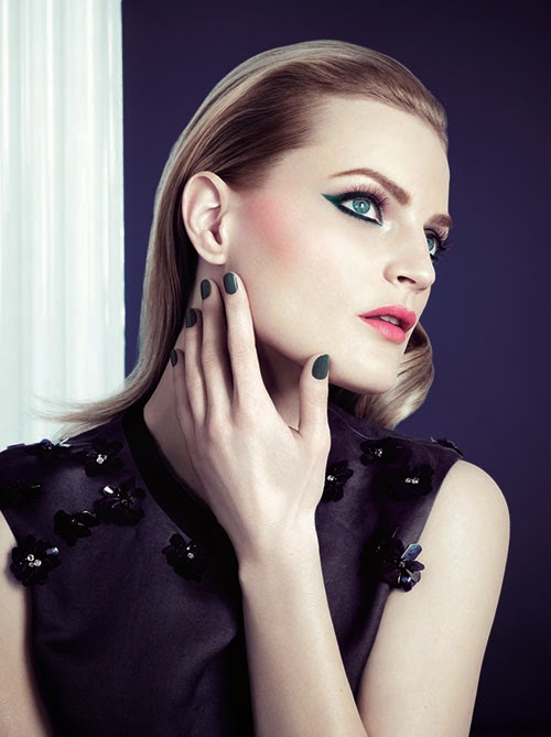 Three AW 2014 makeup collection campaign