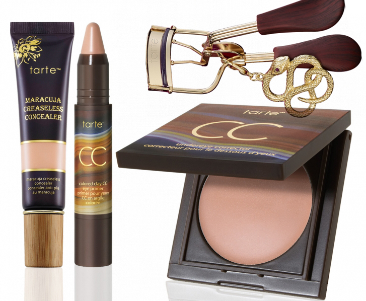 tarte Rainforest After Dark Makeup Collection for Fall 2014 eyes and concealers
