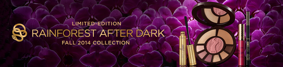 tarte Rainforest After Dark Makeup Collection for Fall 2014 logo