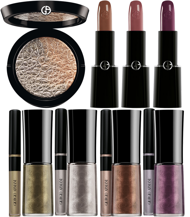 Armani Fade To Grey Makeup Collection for Autumn 2014 products