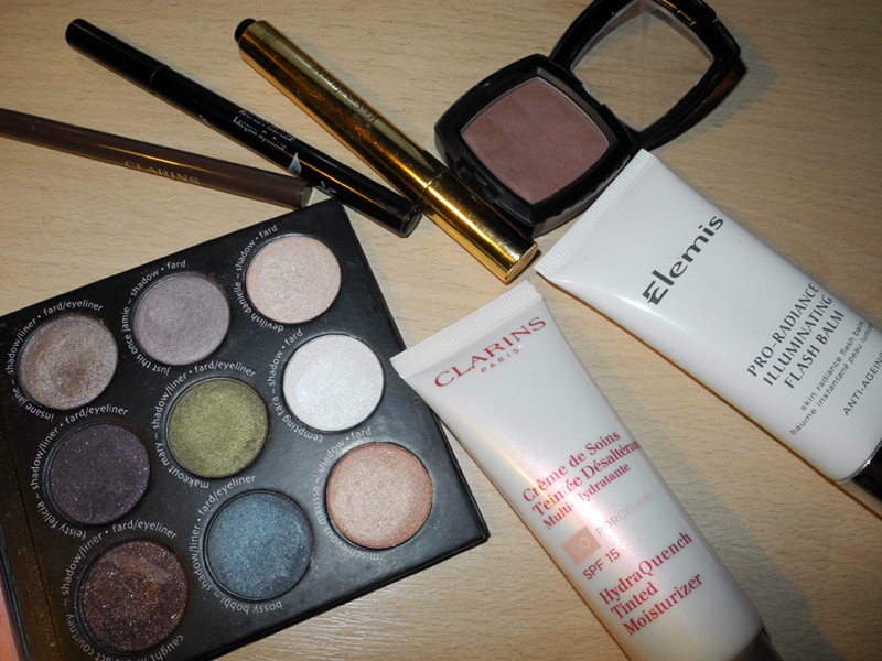 August 2014 Beauty Favourites clarins elemis thebalm YSL rouge bunny rouge nyx makeup4all