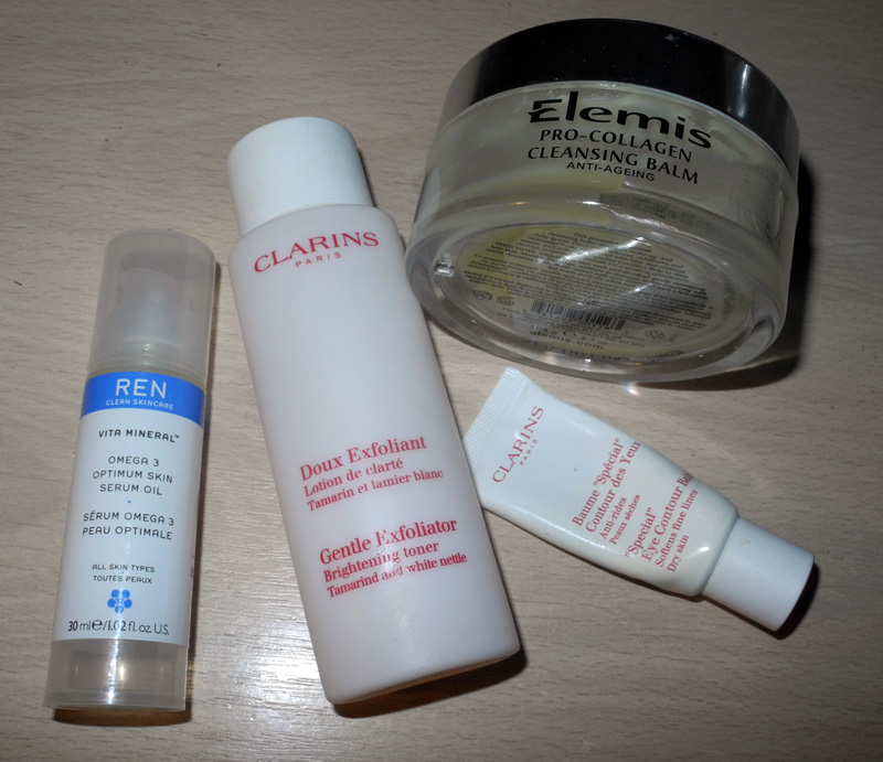 August 2014 Beauty Favourites elemis ren clarins makeup4all
