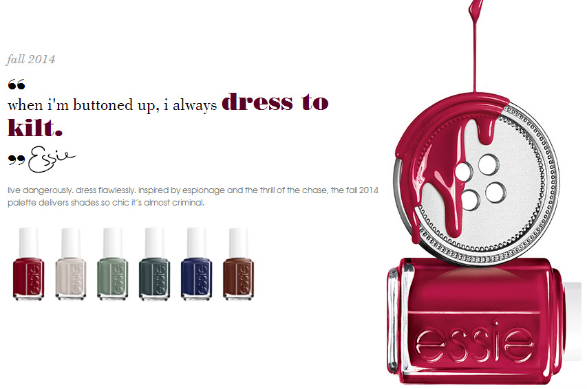 Essie Nail Polish Collection for fall 2014