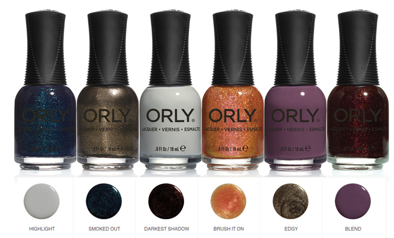 Orly Blush nail polish collection for Fall 2014