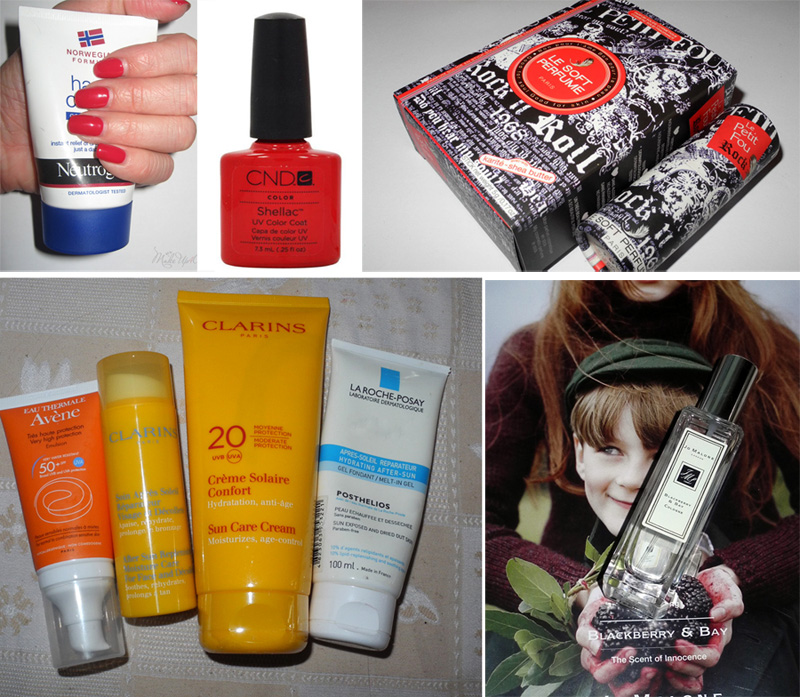Summer 2014 makeup4all SPF red nails perfume