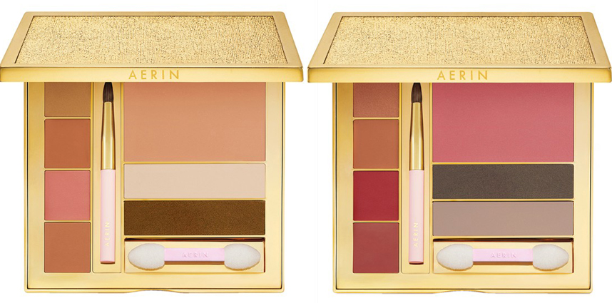 Aerin Makeup Collection for Fall 2014 palettes
