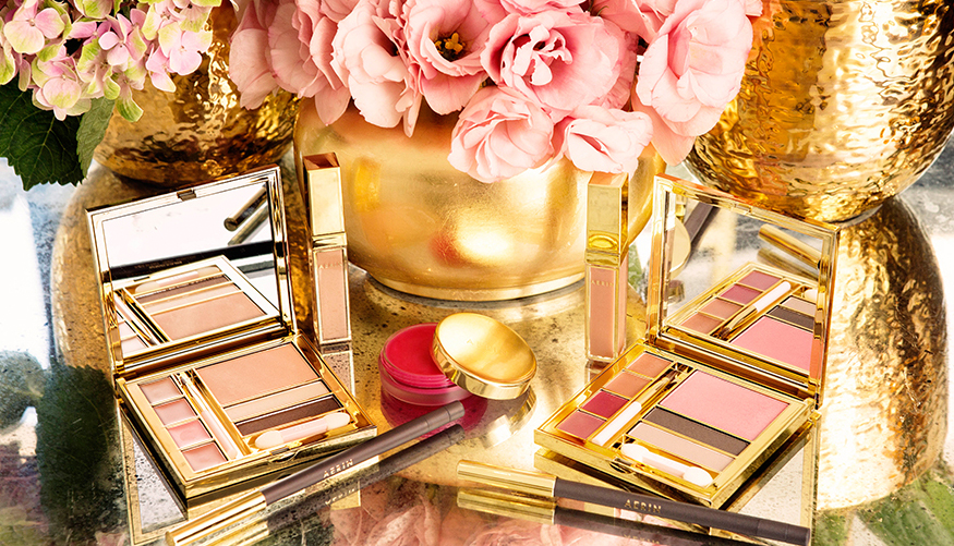 Aerin Makeup Collection for Fall 2014 promo