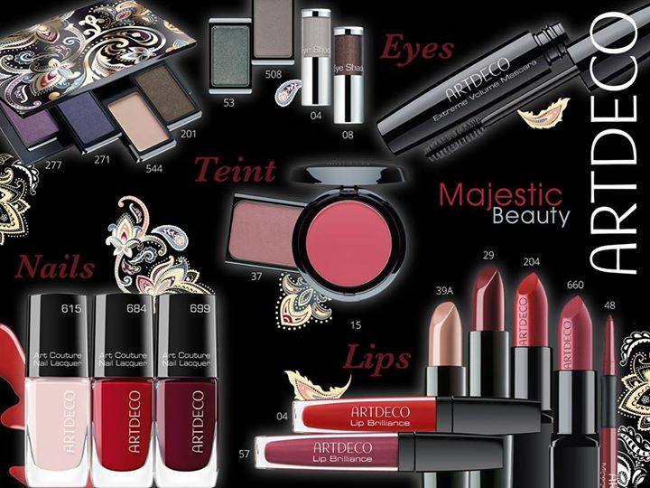 ArtDeco Majestic Beauty Makeup Collection for Autumn 2014 (2)