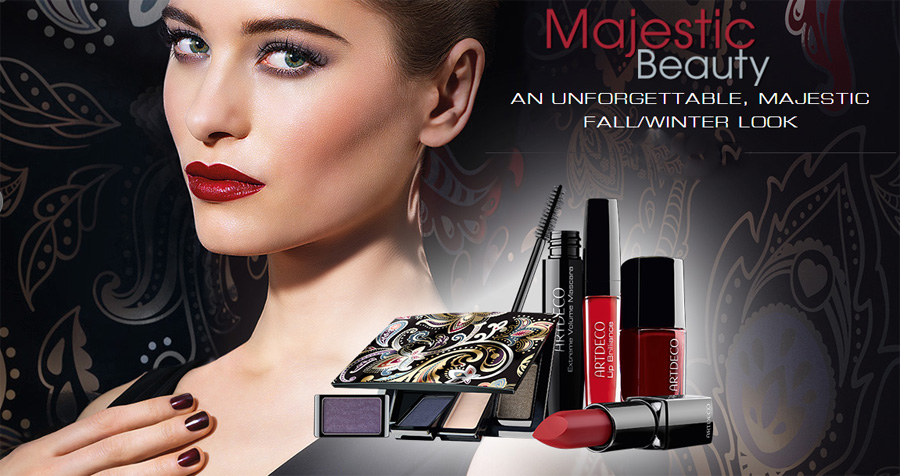 ArtDeco Majestic Beauty Makeup Collection for Autumn 2014 look