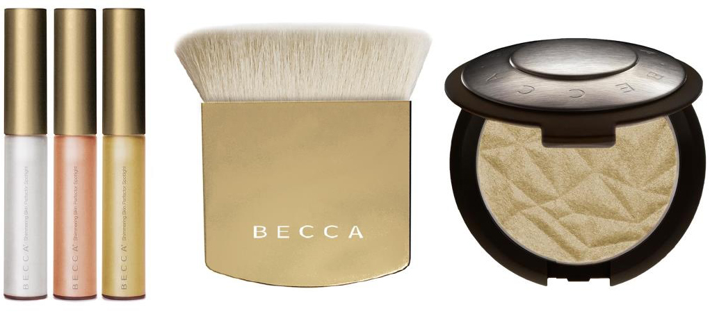 BECCA Makeup Collection for Holiday 2014 products