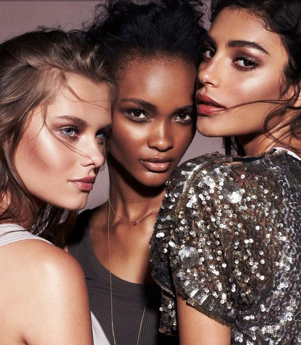 BECCA Makeup Collection for Holiday 2014 promo