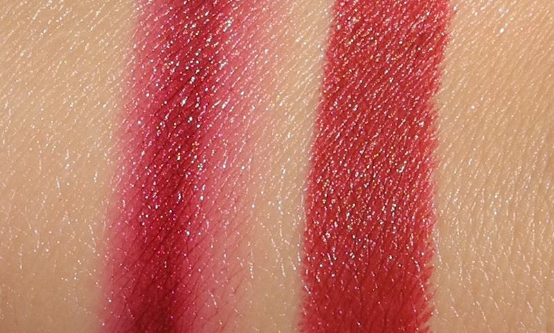 Berry Lips for AW Affordable and Luxury Options Tom Ford and Rimmel swatches
