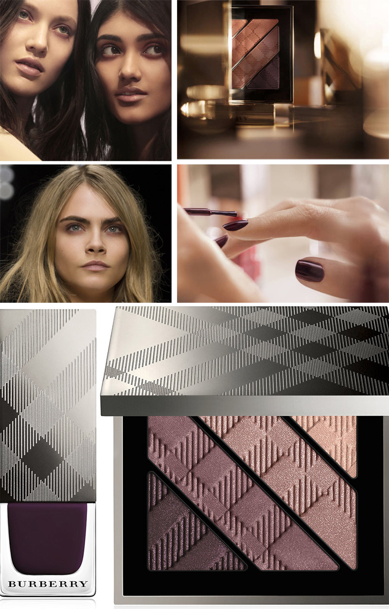 Burberry Bloomsbury Girls  Makeup Collection for Autumn 2014 look