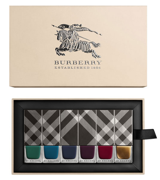 Burberry Bloomsbury Girls  Makeup Collection for Autumn 2014 nail polish set