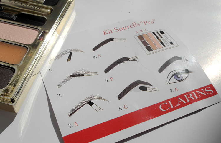 Clarins Kit Sourcils Pro Perfect Eyes and Brows Palette Review and Swatches