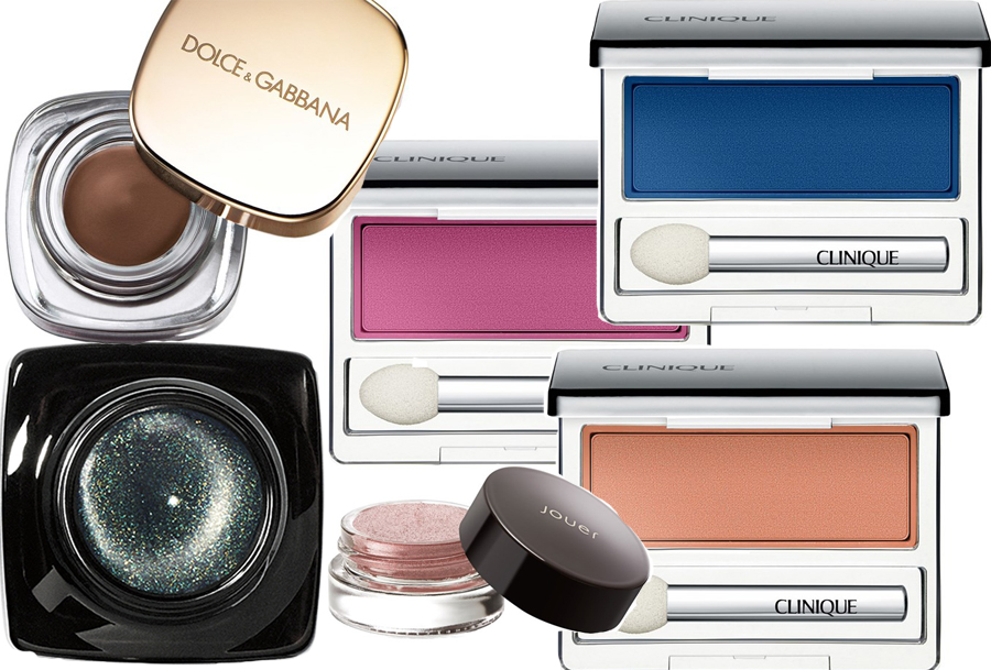 Fall 2014 Eye Shadows and Liners Clinique, Jouer, Dolce&Gabbana and Bobbi Brown