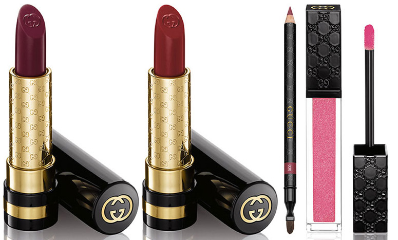 Gucci Beauty makeup lip products