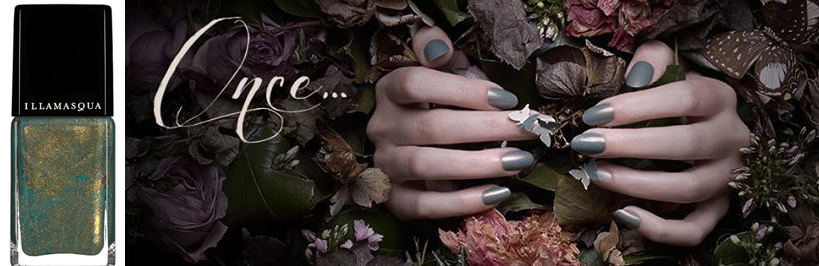 Illamasqua Once Makeup Collection for Autumn 2014 nail varnish melange