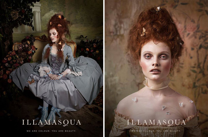 Illamasqua Once Makeup Collection for Autumn 2014 promo 1