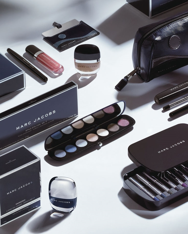 Marc Jacobs Makeup Collection for Holiday 2014 promo