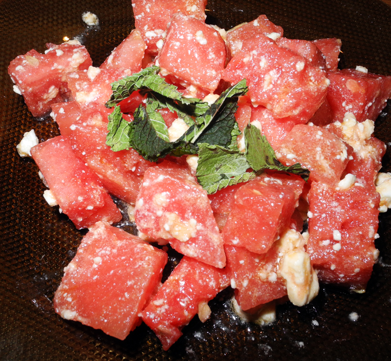 Recipe Of the month Makeup4all watermelon, feta and mint