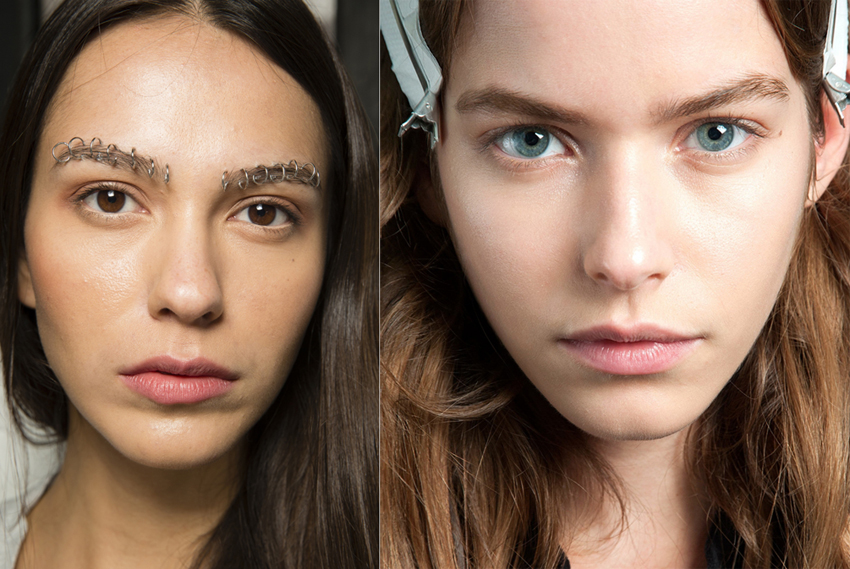 Rodarte and Mary Katrantzou SS15 fashion  week beauty looks