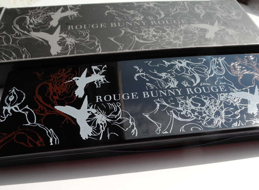 Rouge Bunny Rouge Eye Shadow Palette Raw Garden in Chronos Review and Swacthes