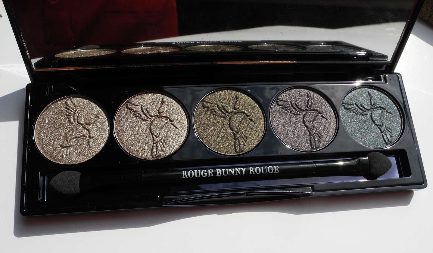 Rouge Bunny Rouge Eye Shadow Palette Raw Garden in Chronos Review and Swatches