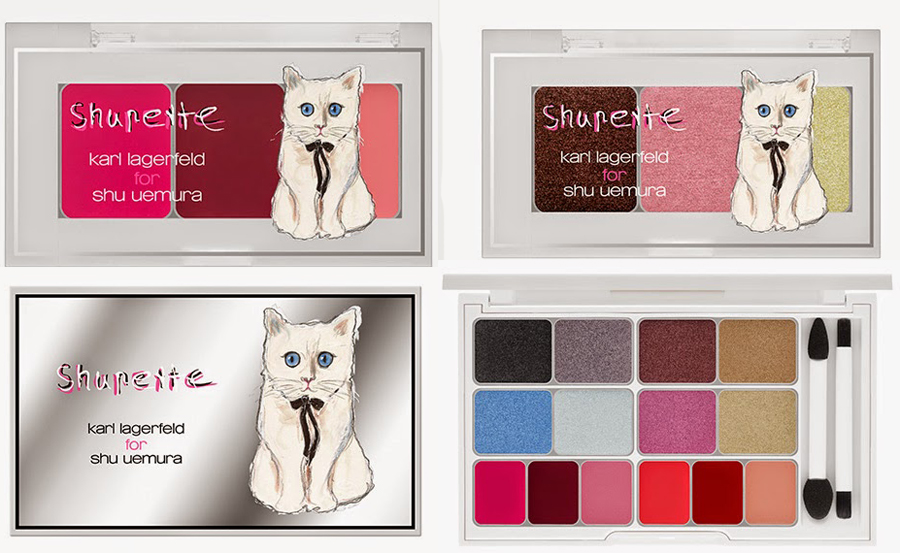 Shu Uemura  Karl Lagerfeld Shupette Collection  products