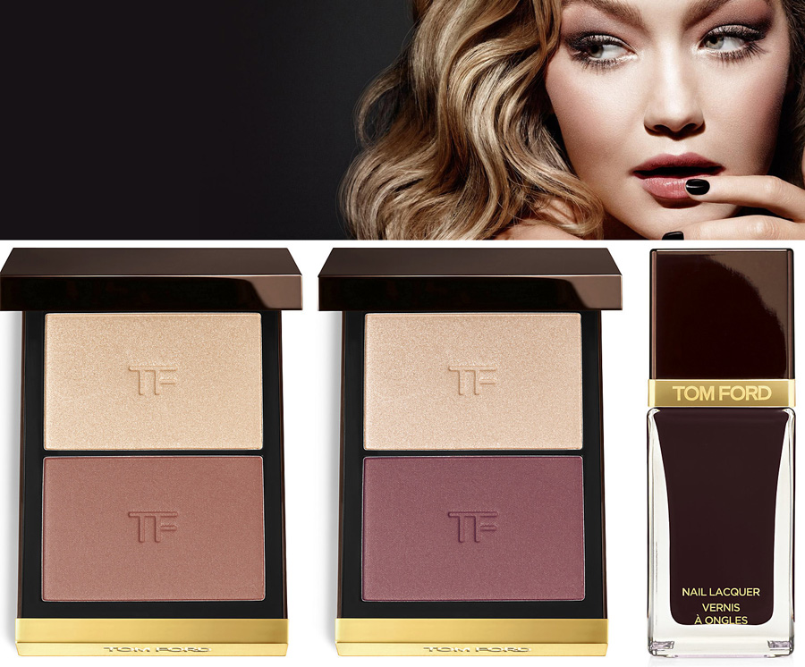 Tom Ford Makeup Collection for Fall 2014 promo