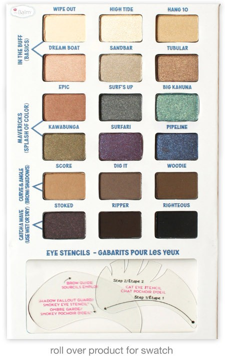 theBalm Balmsai EyeShadow and  Brow Palette for Fall 2014 1