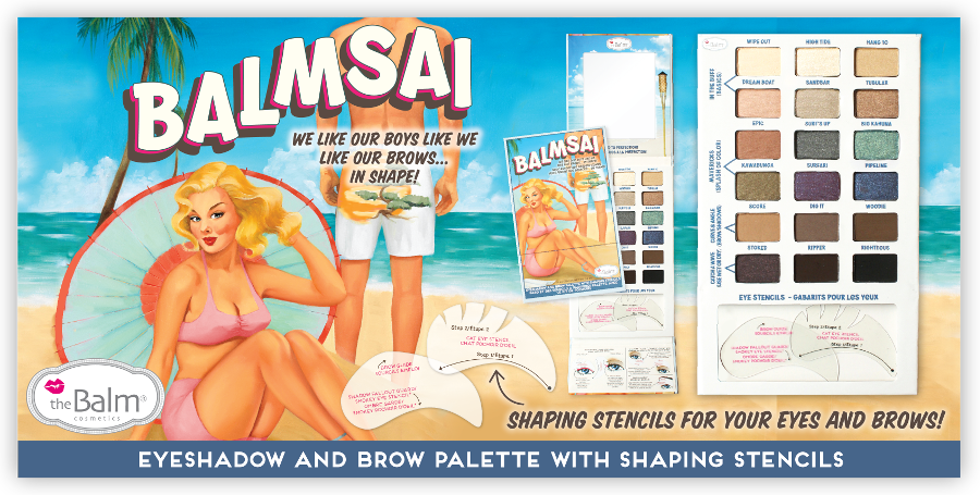 theBalm Balmsai EyeShadow and  Brow Palette for Fall 2014