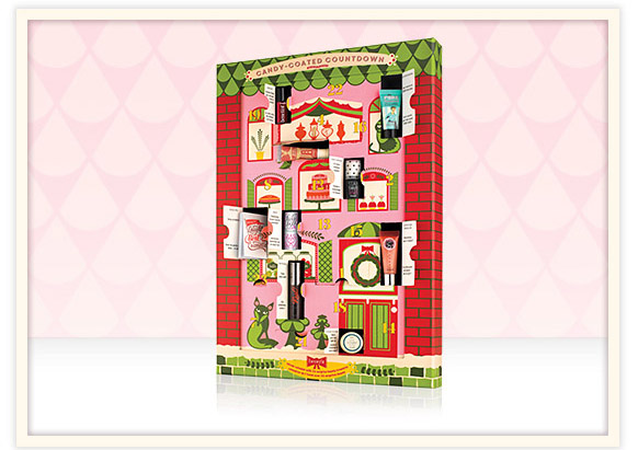 Benefit Cosmetics Candy-coated countdown limited edition beauty advent calendar