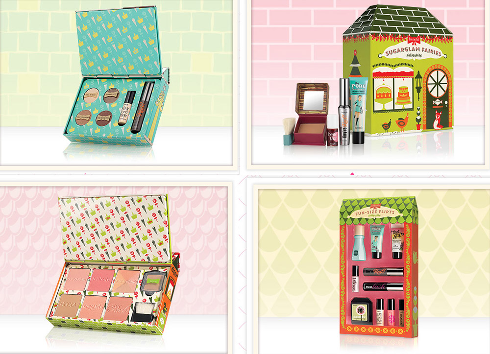 Benefit Makeup Collection for Christmas 2014 kits and sets 1