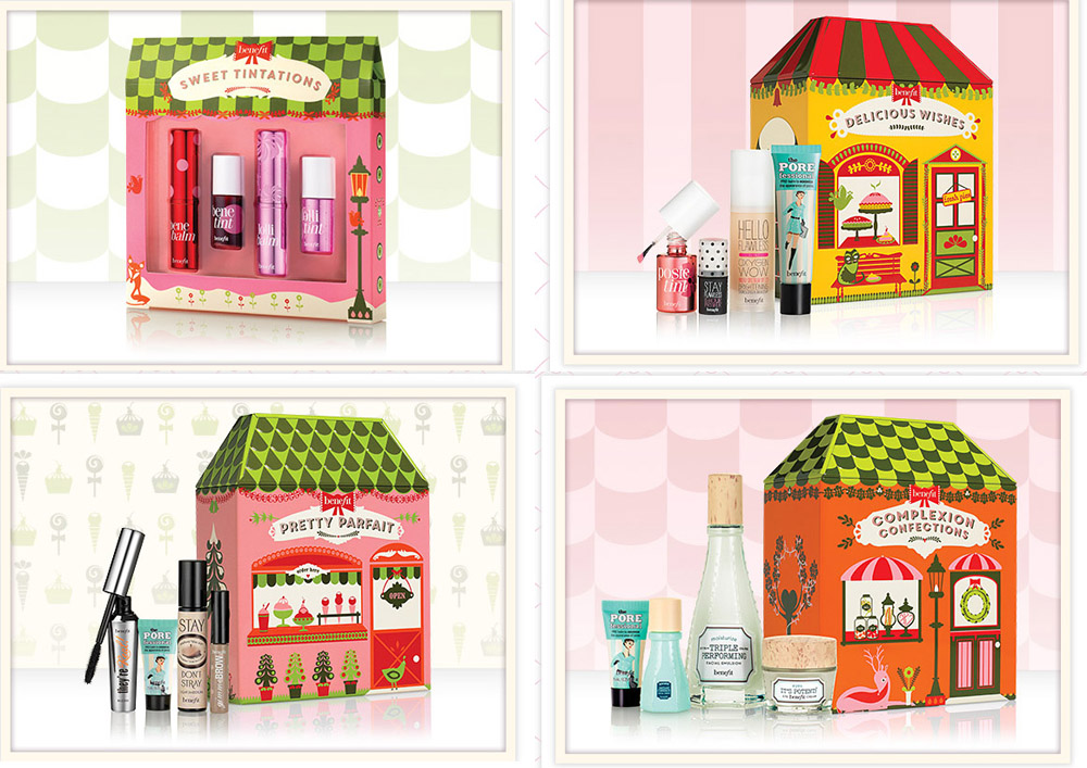 Benefit Makeup Collection for Christmas 2014 kits and sets