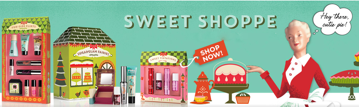 Benefit Makeup Collection for Christmas 2014 promo