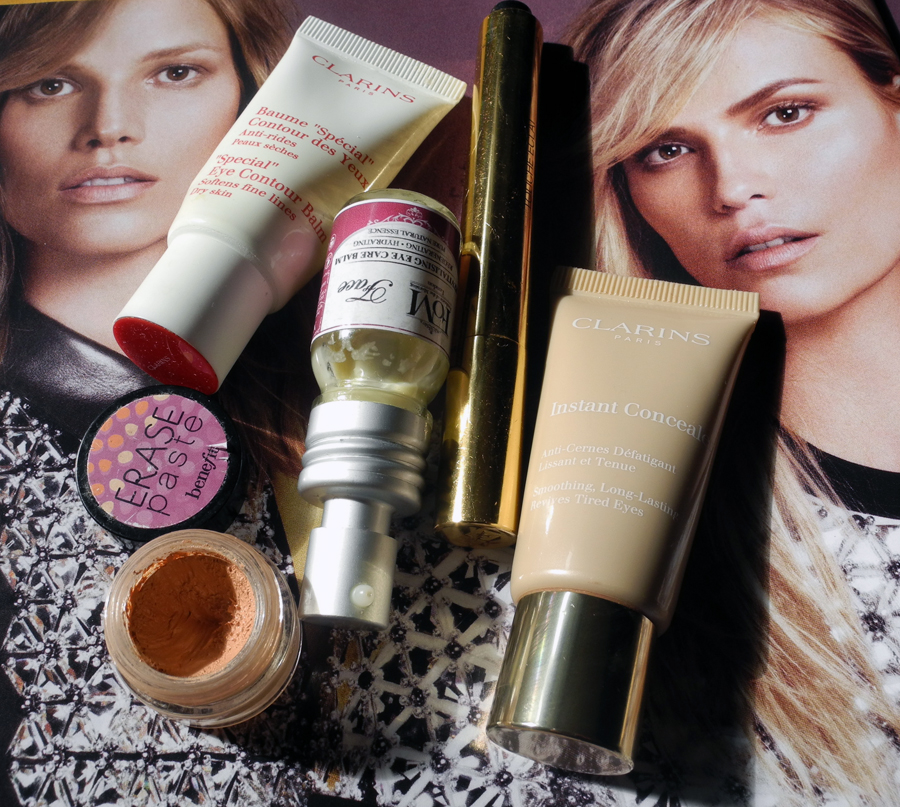 Best eye creams and concealers YSL benefit Clarins FOM London Makeup4all