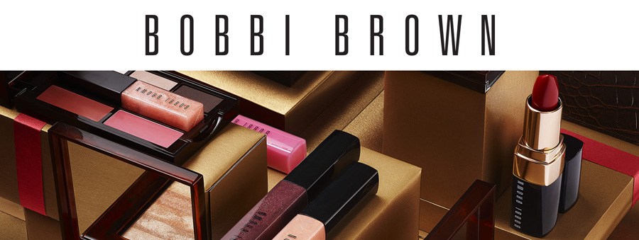 Bobbi Brown Makeup Collection for Holiday 2014 promo