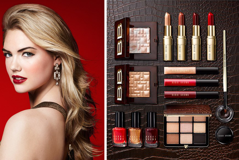 Bobbi Brown Scotch on the Rocks Makeup Collection for Holiday 2014 promo