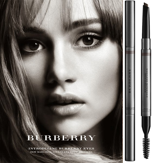Burberry Effortless Brow Definer promo with SookieWaterhouse