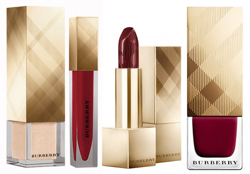Burberry Makeup Collection for Christams 2014 oxblood