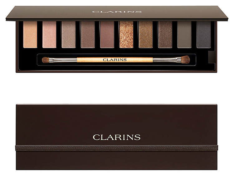 Clarins The Essentials Eyeshadow Pallete holiday 2014